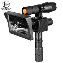 0130 нм инфракрасный светодиодный s ИК камера ночного видения наружный прицел 4,3 водонепроницаемый дюймовый светодиодный камера для ловли дикой природы
