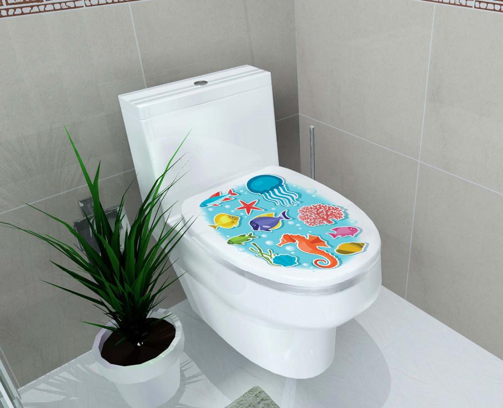HTB1K2rIOpXXXXblapXXq6xXFXXXT - Multi-style Bathroom Stickers On The Toilet Muurstickers Home Decor Waterproof Painting Wall Decal Pegatinas De Pared