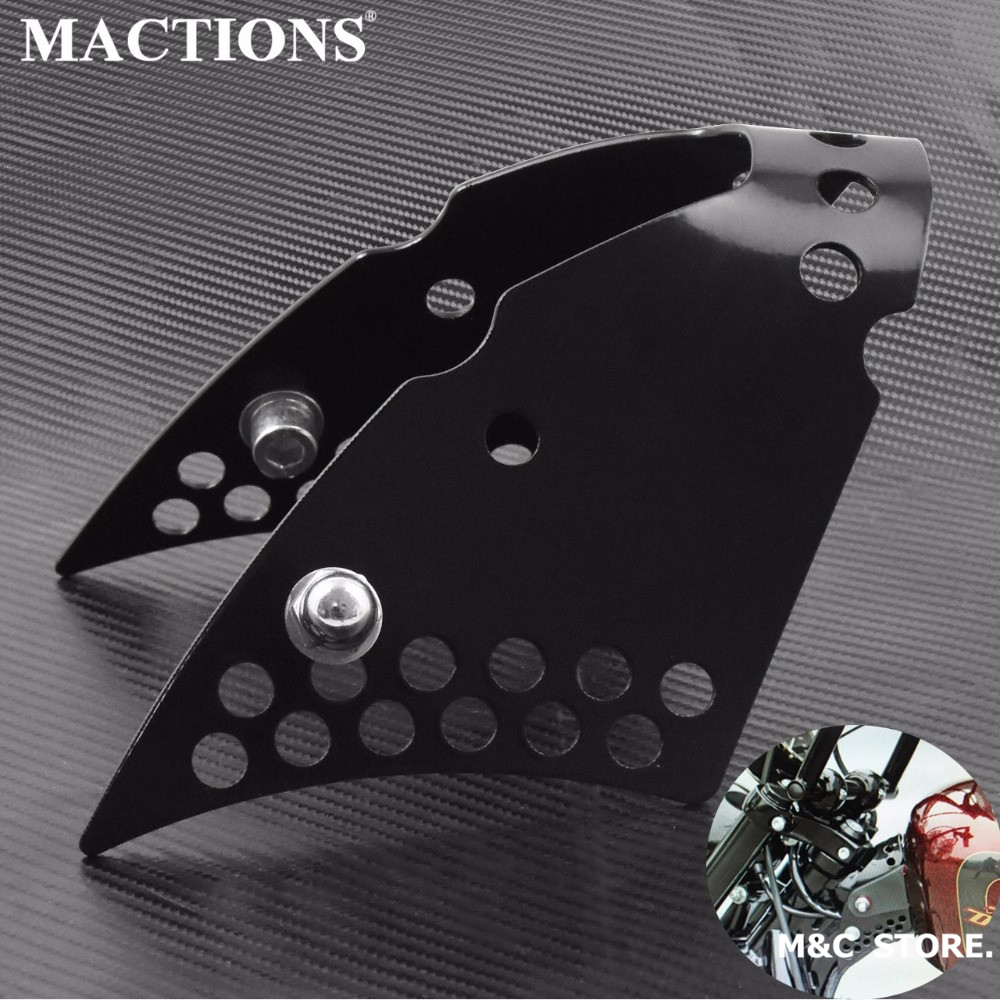 Motorcycle Gas Tank Lifts Risers Gloss Black Billet Aluminum Kits For Harley Sportster XL 883 1200 1995-2016 2017 2018