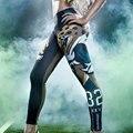 Mulheres 32 Calças Da Cópia da Chita 2016 Verão Treino Leggings Jegging Aptidão Senhoras Magro Leggins Mujer Femme