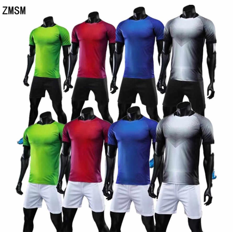 Zmsm 17 18 короткие Для мужчин Футбол Джерси костюм равномерное  пользовательские спортивных Джерси survete Для 518667281f8