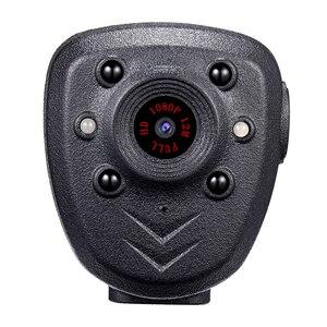 Image 2 - Cámara de vídeo HD 1080P con la solapa del cuerpo de la policía DVR IR noche Visible LED cámara de luz 4 horas grabadora Digital Mini grabadora de voz DV 1
