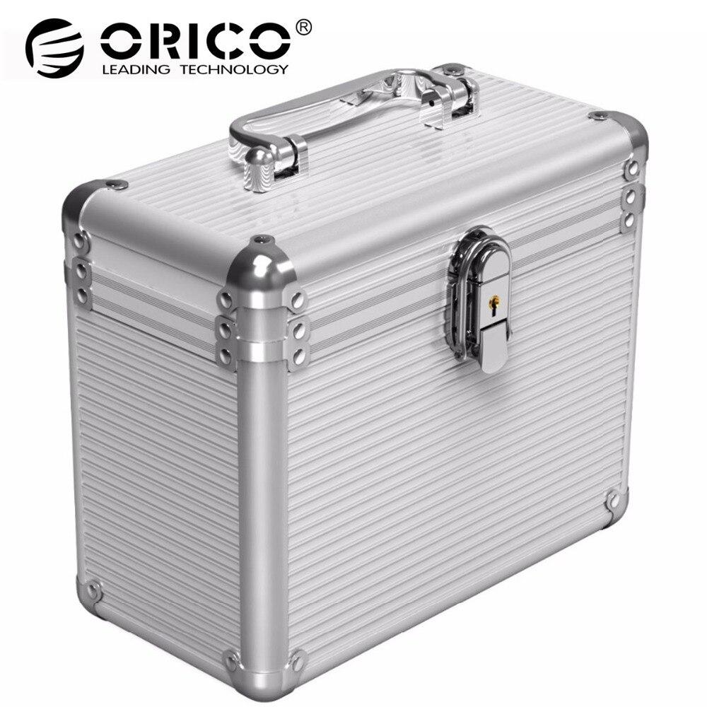 Orico BSC35 En Aluminium 5/10 Bay 3.5-pouces Disque Dur Protection Box De Stockage avec Verrouillage-Argent