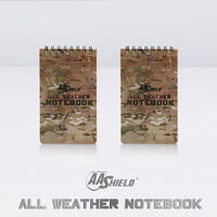 AA Shield All Weather 3 X5 Waterproof Note Camo Outdoor Map Notebook 2 PCS Free Shipping