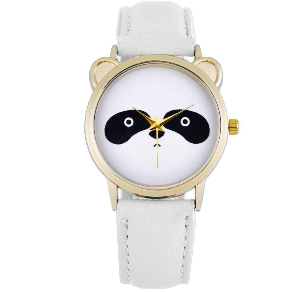 2016 Hot Women Watch Cute Panda Relojes Mujer Leather &