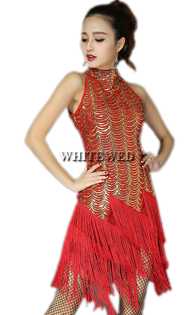 1920 Red Flapper Dresses Vintage