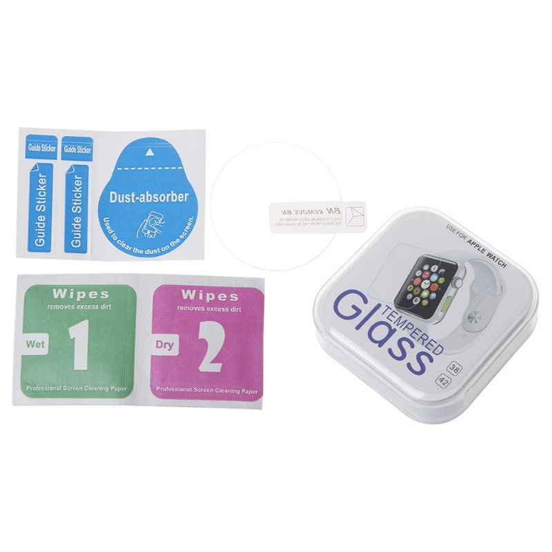 Watch Screen Protector Cover Protective Film HD Tempered Glass Clear for  Explorist HR Smartwatch