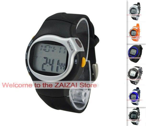 2015 moda Unisex pulso deportivo pulsometro calorías Monitor del ritmo cardíaco contador reloj deportes digital ejercicio relojes