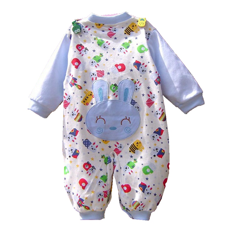 Cute Cartoon Baby Boys' Rompers Long Sleeve Overalls for Infants Body Autumn Jumpsuit Newborn Bebe Clothing Kids Clothes Wear unisex baby rompers cotton cartoon boys girls roupa infantil winter clothing newborn baby rompers overalls body for clothes
