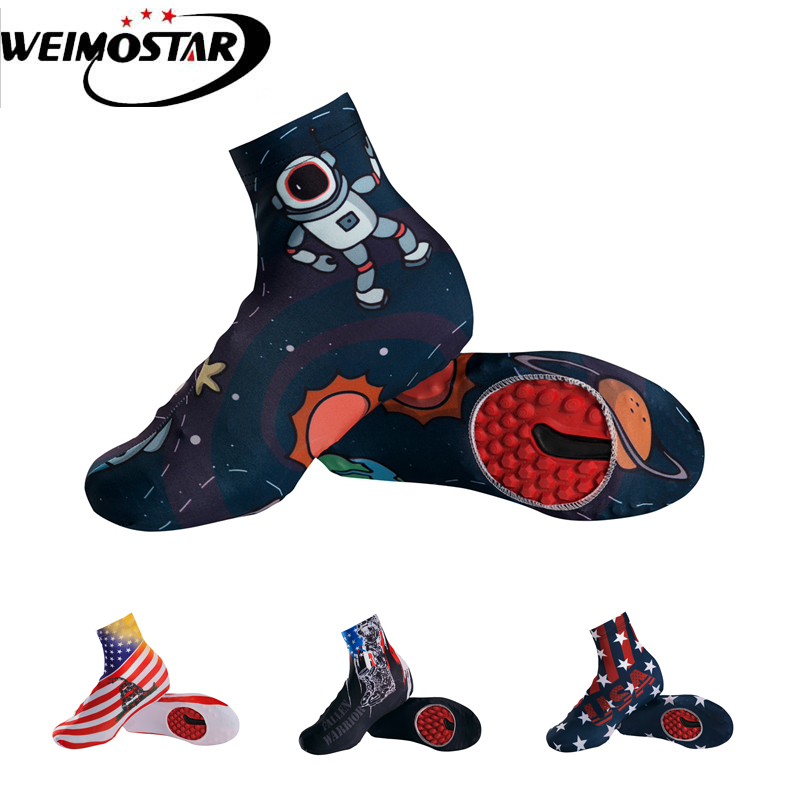 Weimostar Team Outdoor Bike Cycling Shoe Covers Ciclismo Windproof MTB Bike Equipment Overshoes Cycling Boot Cover M-XL