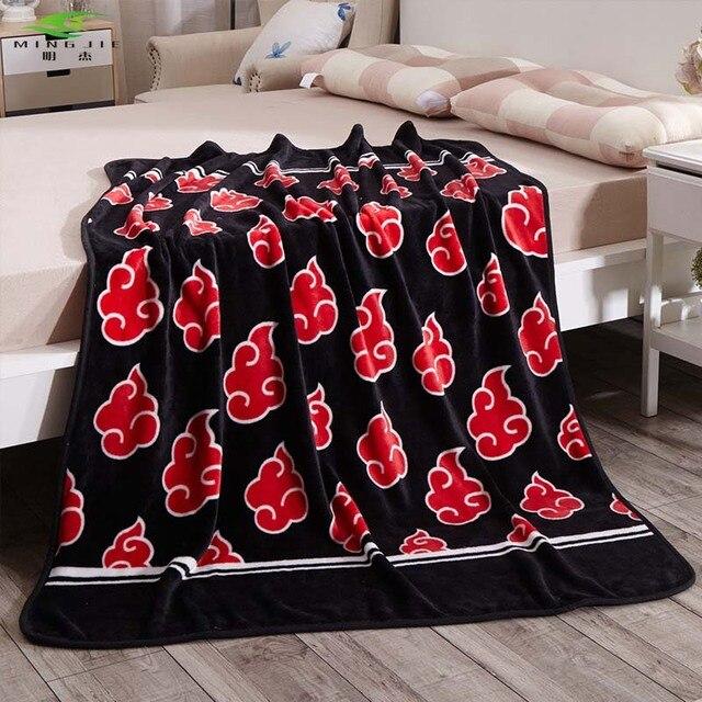 Superb Naruto's Akatsuki Clan bed blanket