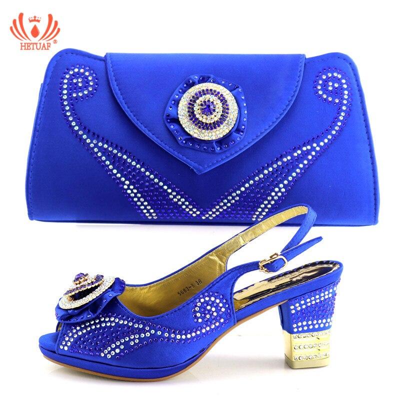 Et À La Pour Design rose Confortable Pu De Avec Mariage bleu Italien Sandales Ensemble Dernières Sac Match Ciel rouge Chaussures Royal Africains Fête x4Stqn