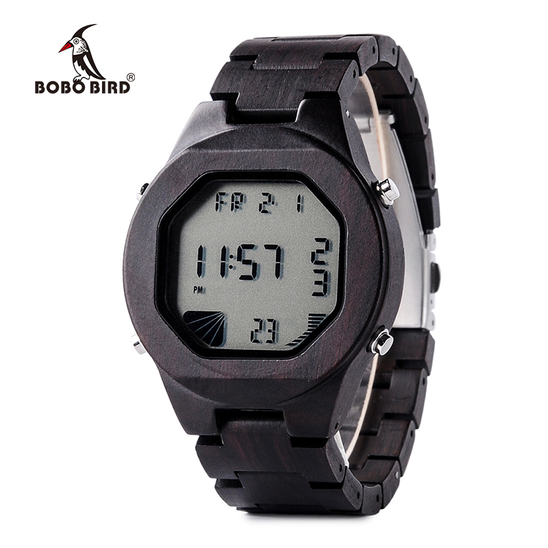 BOBO BIRD LED reloj de pulsera digital Relojes deportivos para hombre - Relojes para hombres - foto 1