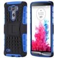 KISSCASE For LG G3 G4 G2 Cases Hard Heavy Duty Armor Case For LG Optimus G3 G4 G2 Stand Holder Hybrid Phone Cover Capa G3 G4 G2