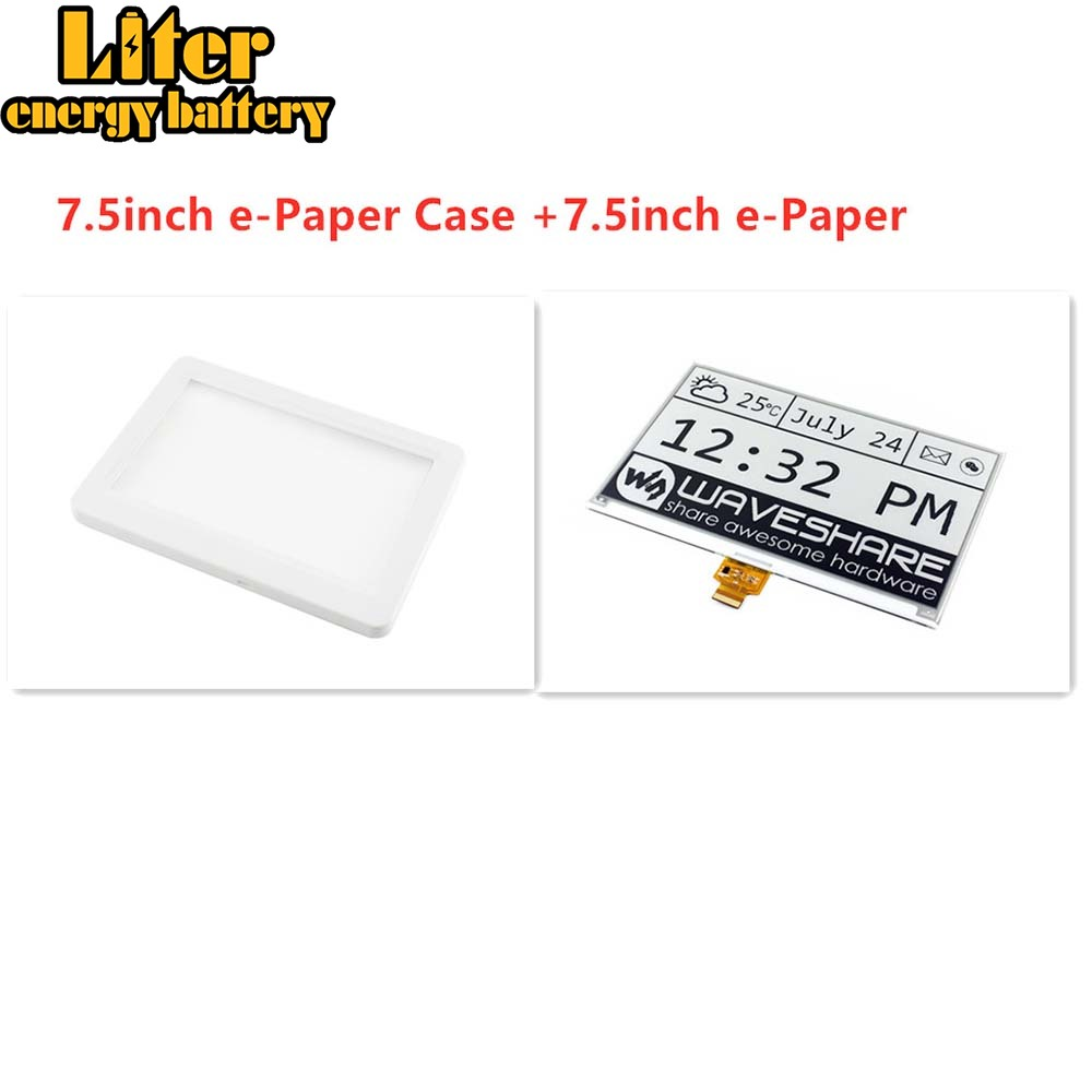 Waveshare 7.5inch E-Paper Protection Case, For 7.5inch E-Paper/7.5inch E-Paper (B)/7.5inch E-Paper (C)