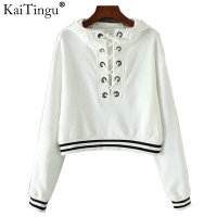 KaiTingu Brand Fashion Long Sleeve Women Sweatshirt Frenulum Bondage Hoodies Hooded Tracksuit Jumper Pullover For Autumn
