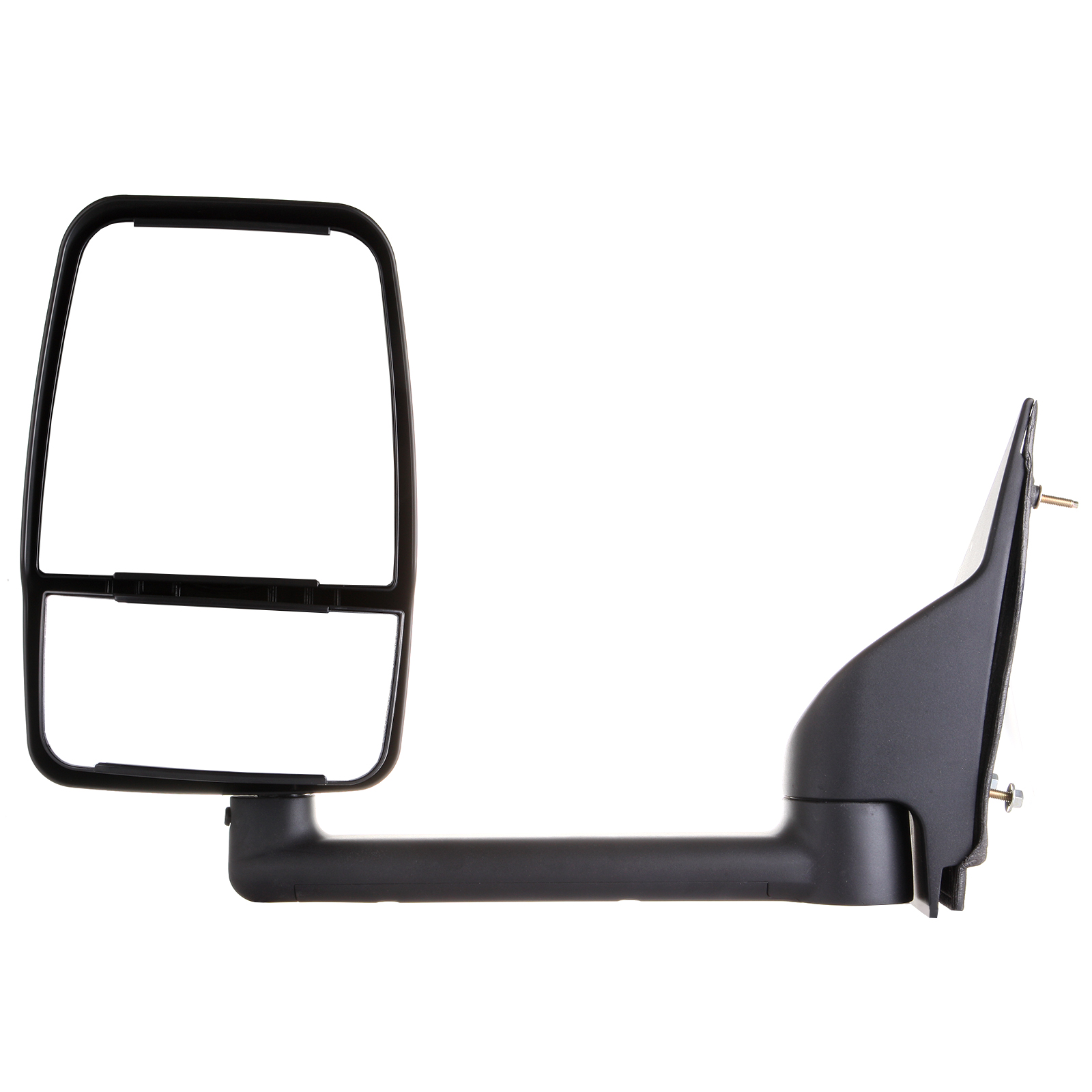 Eccpp textured manual towing mirror left driver side for 2003 2004 2005 2006 2007 2008 2009 2010 2011 chevy express gmc savana