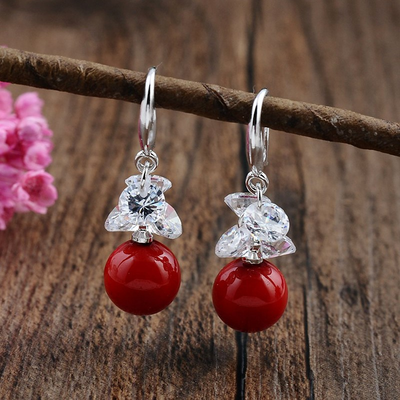 Detail Feedback Questions About Zhaofeng Red Earrings Statement