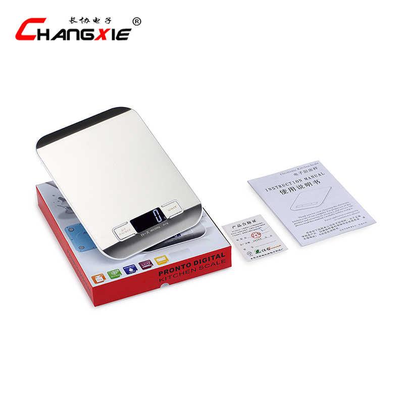 10 kg x 1g balances électroniques cuisine bijoux numériques balances alimentaires Smart LCD Mi balances en acier inoxydable