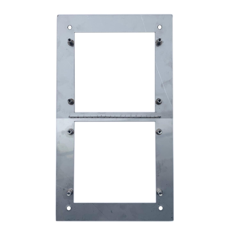 VTOF002 para VTO2000A-C Panel frontal para 2 módulos - 3