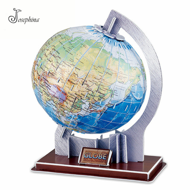 Aliexpress buy 3d earth and solar system paper puzzles diy 3d earth and solar system paper puzzles diy model kits toy 3d horoscope puzzles wooden puzzles sciox Gallery