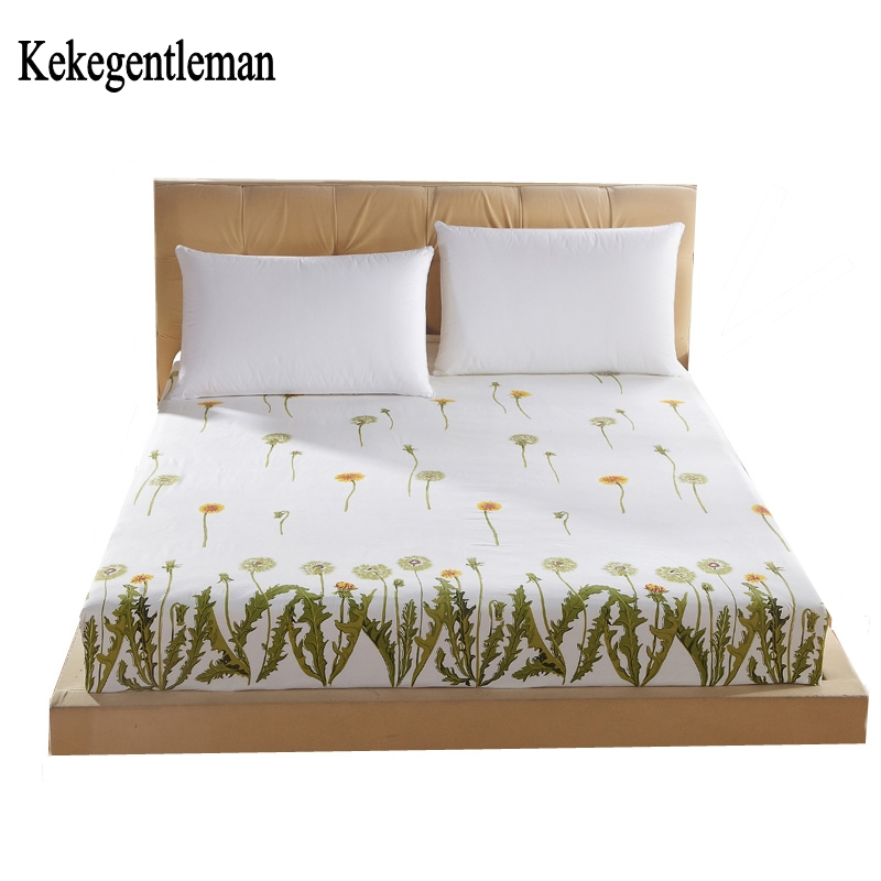 Kekegentleman Fitted sheets rubber bed sheet elastic bed linen mattress cover bedclothes bedspread free shipping