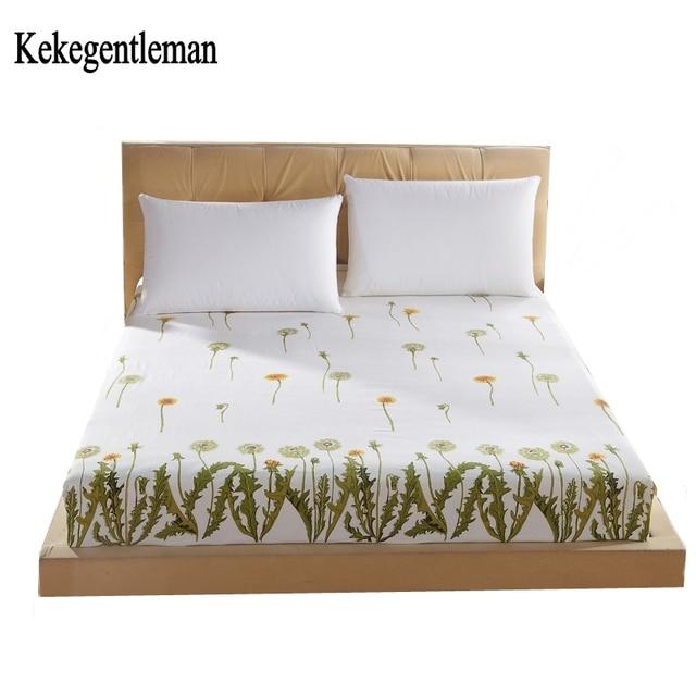 Kekegentleman Ed Sheets Rubber Bed Sheet Elastic Linen Mattress Cover Bedclothes Bedspread Free Shipping