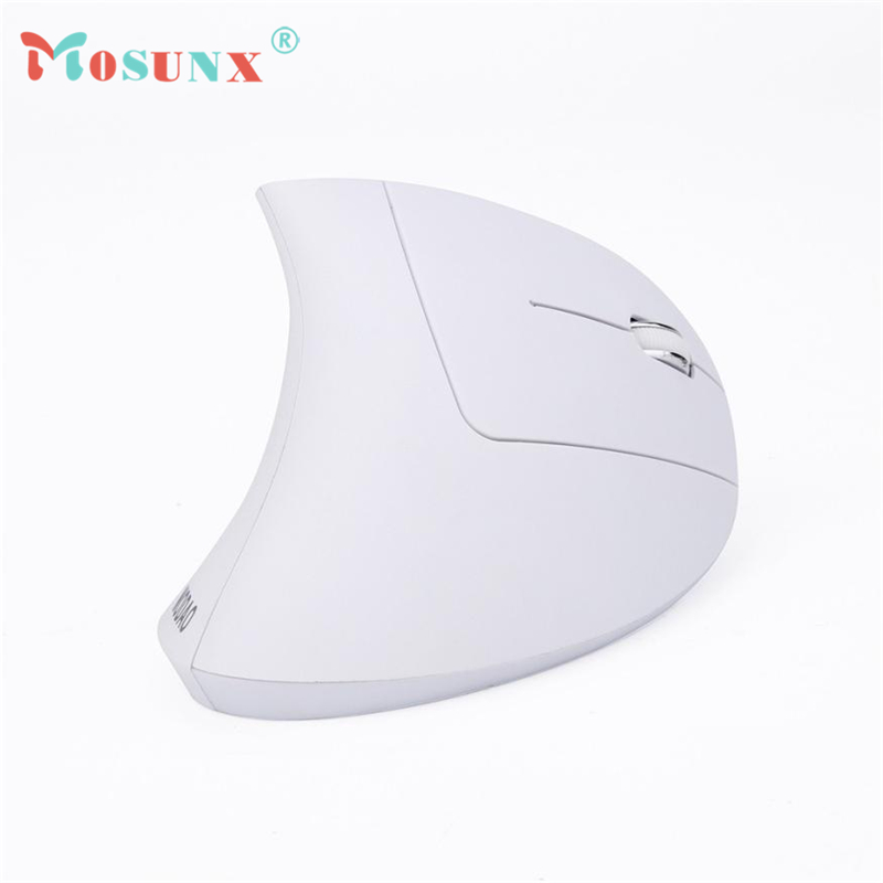 2.4GHZ Wireless USB Optical Mouse 1600DPI 5 Butttons Vertical Ergonomic Adjustable Mice  ...