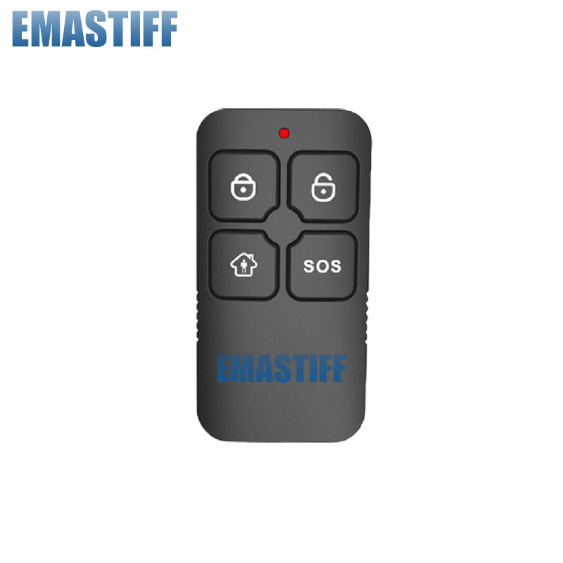 Free Shipping Wireless Remote Control Controller Keyfob Keychain 433MHz 1pcs Just For Our Alarm System