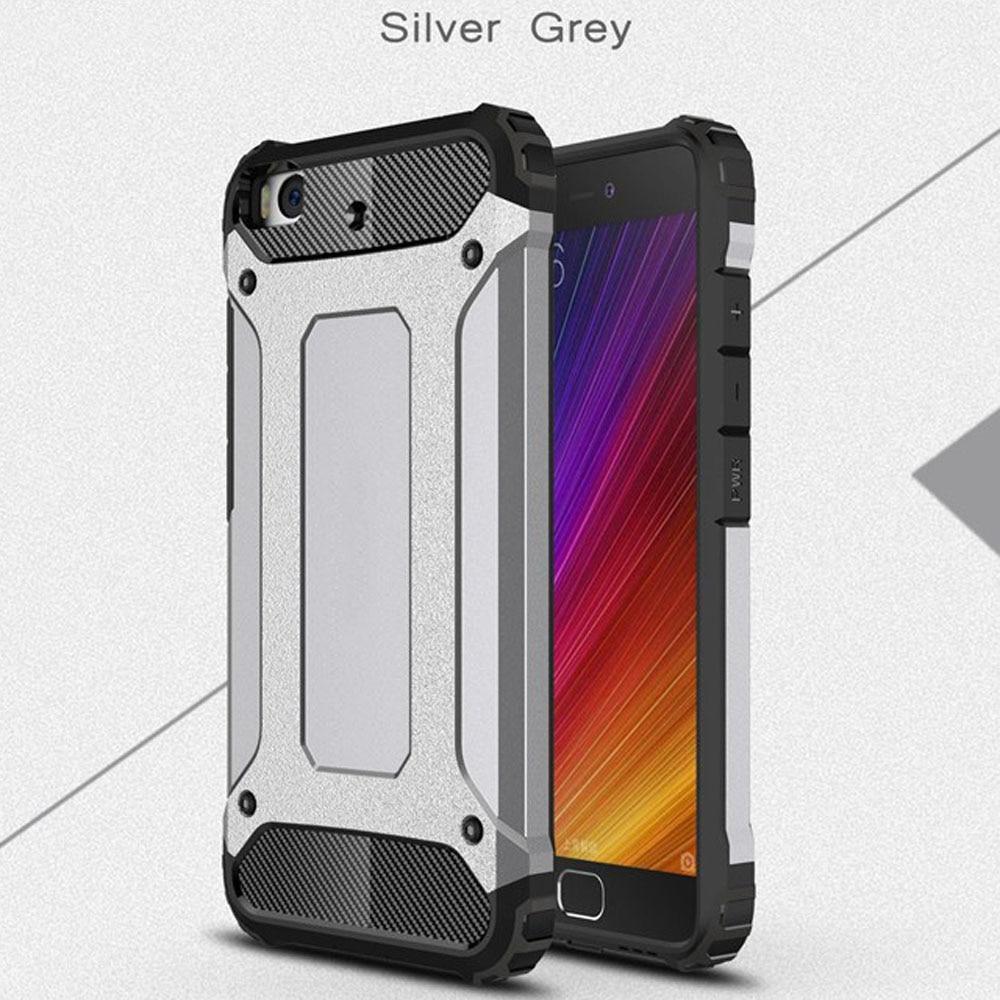 Case for Xiaomi Mi 5 Slim Fit TPU Silicon Hard PC Back Tank Armour - Բջջային հեռախոսի պարագաներ և պահեստամասեր - Լուսանկար 3
