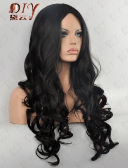 темные волосы длинные фото