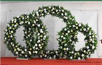 Свадебные реквизит железное кольцо рамки Mori задний план декоративная Арка газон свадебный венок этап украшения.