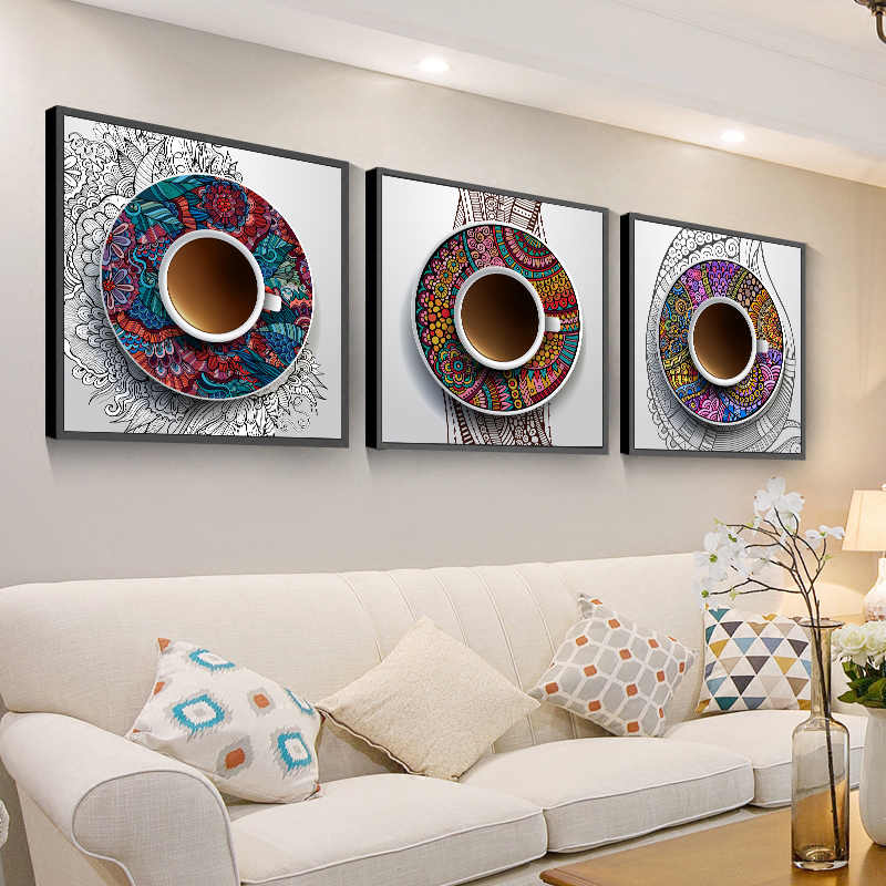 Posters And Prints Coffee House Wall Art Cafe Restaurant Canvas Painting National Traditional Wall Pictures For Kitchen Painting Calligraphy Aliexpress