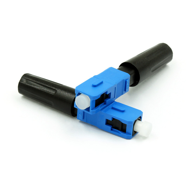 Free Shipping 100pcs/lot High Quality Fiber Optic FTTH SC UPC Fast Connector