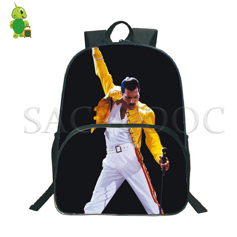 Michael Jackson Rock Backpack Freddie Mercury Multifunction Bag for Teens Women Men USB Charge Laptop Backpack School Travel BagMichael Jackson Rock Backpack Freddie Mercury Multifunction Bag for Teens Women Men USB Charge Laptop Backpack School Travel Bag