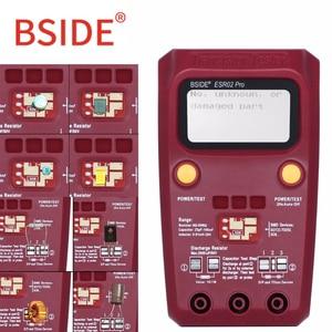 Image 5 - BSIDE ESR02PRO Digital Transistor SMD Components Tester Diode Triode Capacitance Inductance Multimeter Meter