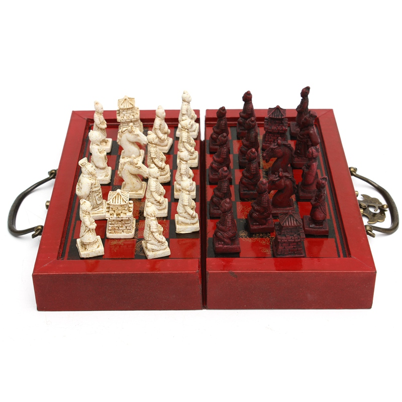 Kiwarm классический Декор Ремесло китайские антикварные фигурки шахматы миниатюрный шахматы путешествия игры Шашки Развлечения Бизнес подар...