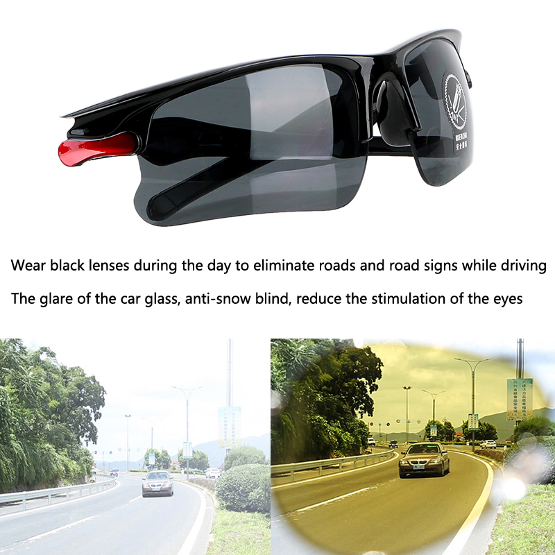 Image 4 - Car Driving Glasses Night Vision Glasses Sunglasses For Mitsubishi Asx Lancer 10 Outlander Pajero Colt Carisma Galant Grandis-in Car Stickers from Automobiles & Motorcycles