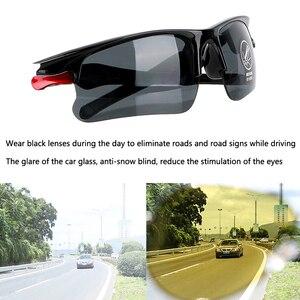 Image 4 - Óculos de sol com visão noturna para dirigir, óculos de visão noturna para mitsubishi asx lancer 10 outlander pajero colt carisma galant grandis