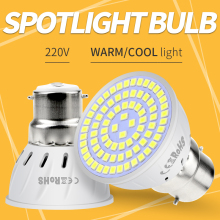 LED GU10 Spotlight MR16 Corn Bulb 220V E27 Lamp E14 Ampoule Led Spot Light GU5.3 B22 Home Energy Saving Lampada 4W 6W 8W SMD2835