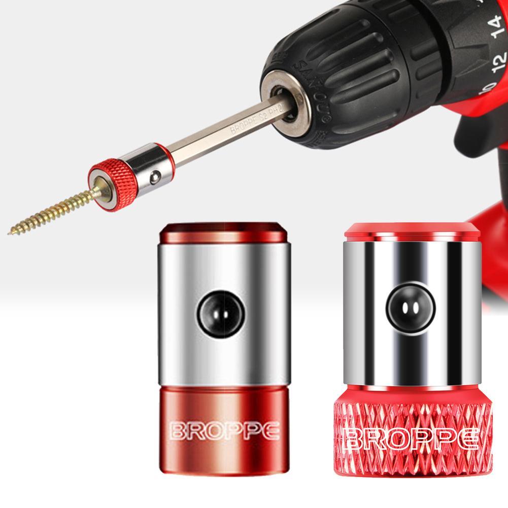 Screwdriver Bit Magnetic Ring Metal Magnetizer Screw Catcher Pick Up Hand Tool Hot