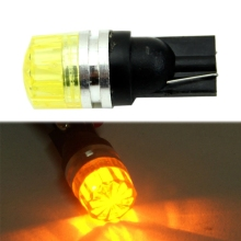 цена на T10 Car Wedge Amber Yellow 5050 SMD LED Turn Tail Side Light Bulb Lamp DC 12V