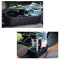 Caliente venta de coches Auto portavasos de múltiples funciones Portable del asiento del vehículo teléfono celular bebidas sostenedor de la guantera del coche Interior organizador