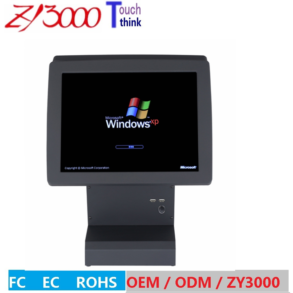 new stock portable pos terminal 15 double screen 5 wire resistive touch screen all in one cheap pos system серьги page 5
