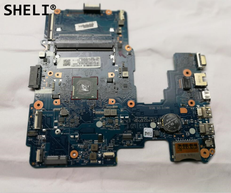 SHELI For HP 240 G5 Motherboard with N3060 cpu 860460-601 860460-001 sheli for hp 15 15 f motherboard with n3050 cpu 828168 001 828168 601