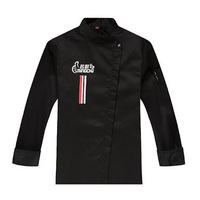 2017 New Unisex long sleeved Chef Jacket Women Waiter Uniform Cook Coat Autumn & Winter Restaurant Kitchen Wear Work Clothes