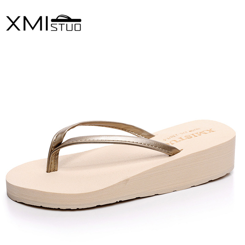 XMISTUO fashionable PU belt slope with casual sandals and slippers home essential travel sandals Rome Beach shoe female students fashionable women s sandals with cross straps and pu leather design