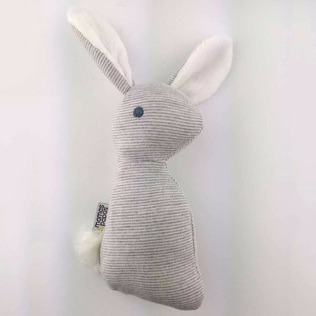 0-12 months BB Rabbit Baby Toys Plush Bunny Rattle mobiles Infant Ring Bell Crib Bed Hanging Animal Bebe Toy Kids Doll 1