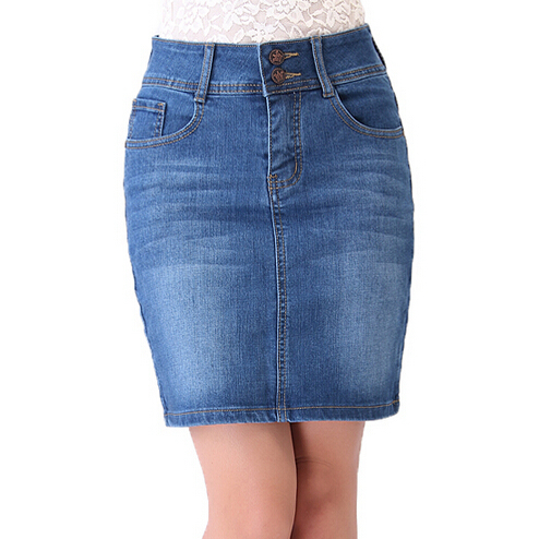 Popular Ladies Long Denim Skirts-Buy Cheap Ladies Long Denim ...