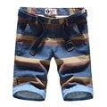 S2178 2 цвета 100% хлопок 2017 летние шорты мужчин с пояс slim fit высокое качество мужские шорты бермуды masculino короткие masculino